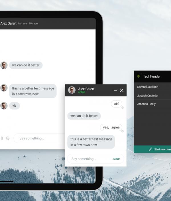 Messanger App UI Kit
